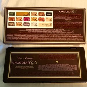 Too Faced Makeup - Too Faced Chocolate Gold Eyeshadow Palette NEW